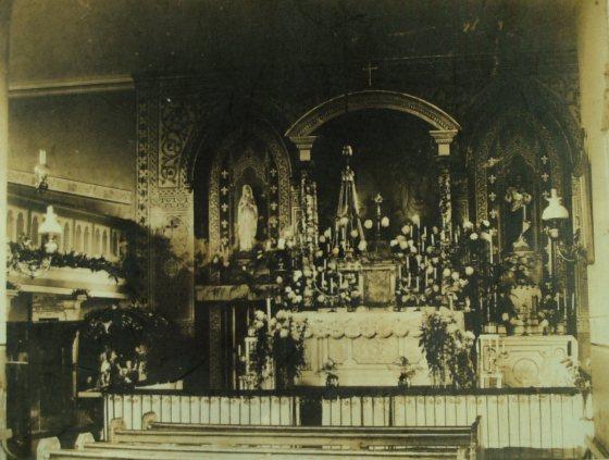 Old Church Altar