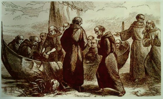 St. Brendan Embarking